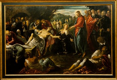 Religion: New Testament. The Raising of Lazarus