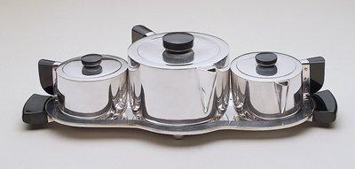 Wilcox Silver Plate Co. tea service Hamill