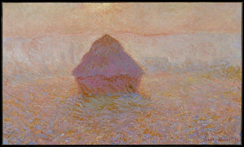 Grainstack, Sun in the Mist, Claude Monet | Mia