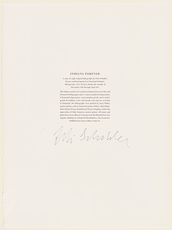 text page with signature