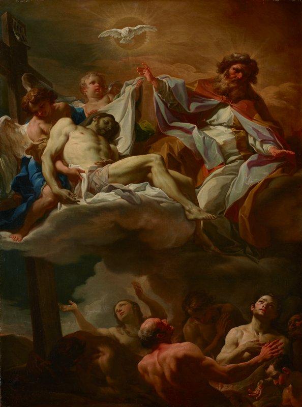 Holy Trinity and Purgatory
