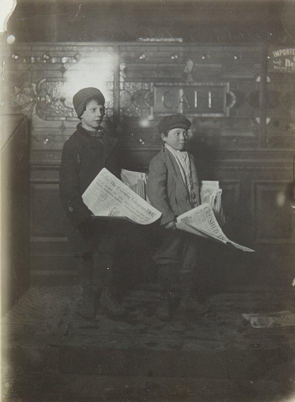No.24A; newsboys, Cincinnati