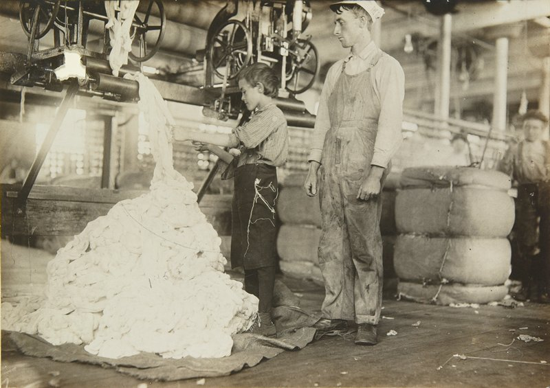 cotton mill workers, Tennessee