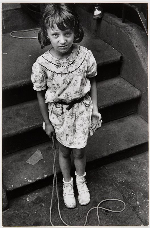 girl with skip rope