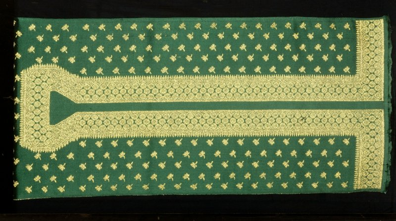 Ben chrief weavers. Kaftan fabric (sleeve panels included) (green)