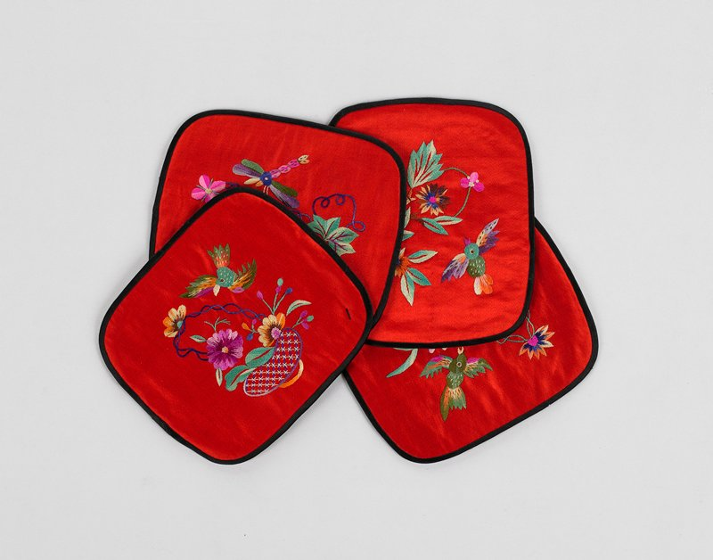 embroidered auspicious characters