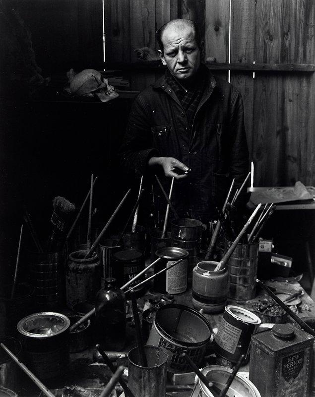 portrait of Jackson Pollock
