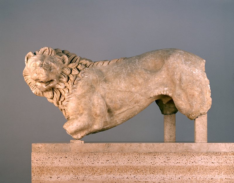 Executed by an Athenian sculptor of marble from the quarry at Mount Pentelicus