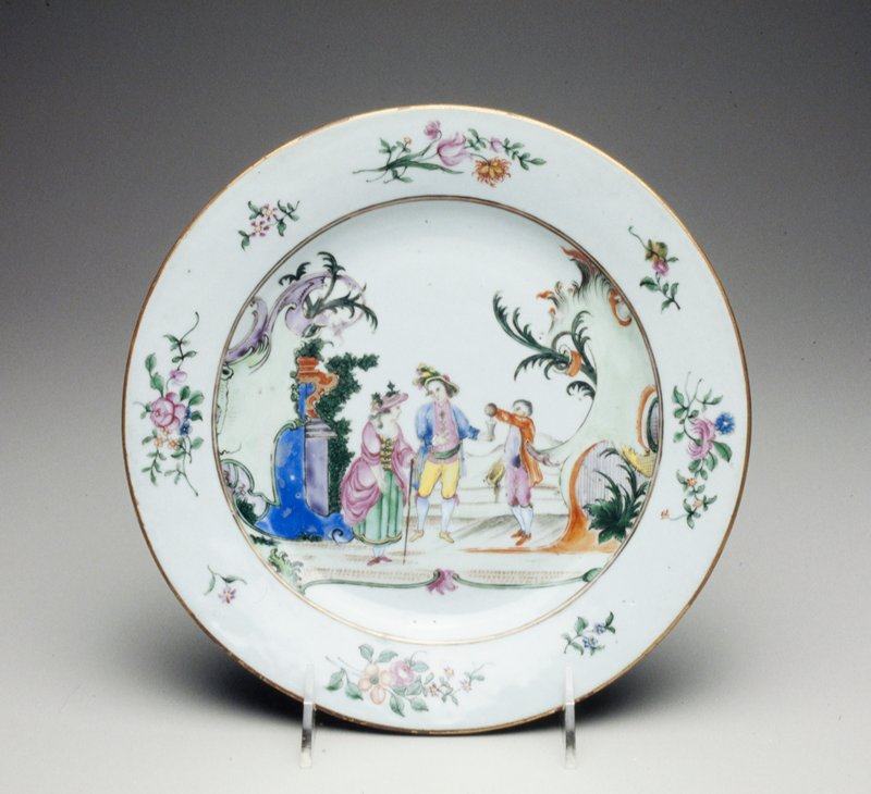plate, ceramic, Chinese Export