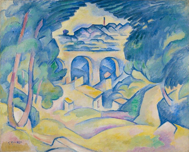 Cubist landscape