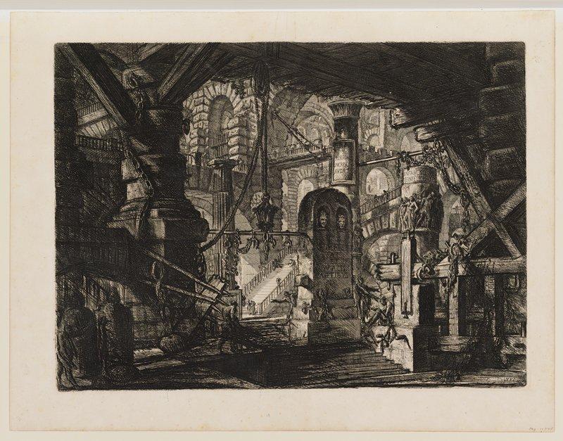 Plate 16 from Carceri d'Invenzione