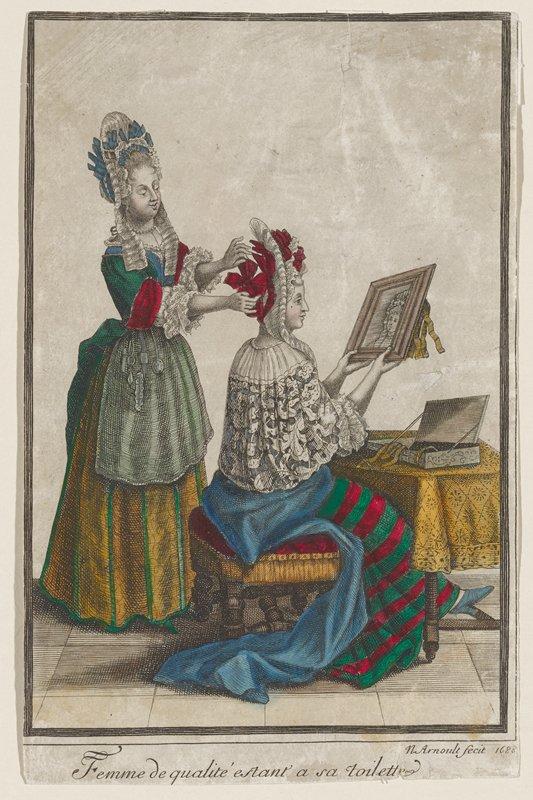 """Bonnart"" type print; See: Bonnart"