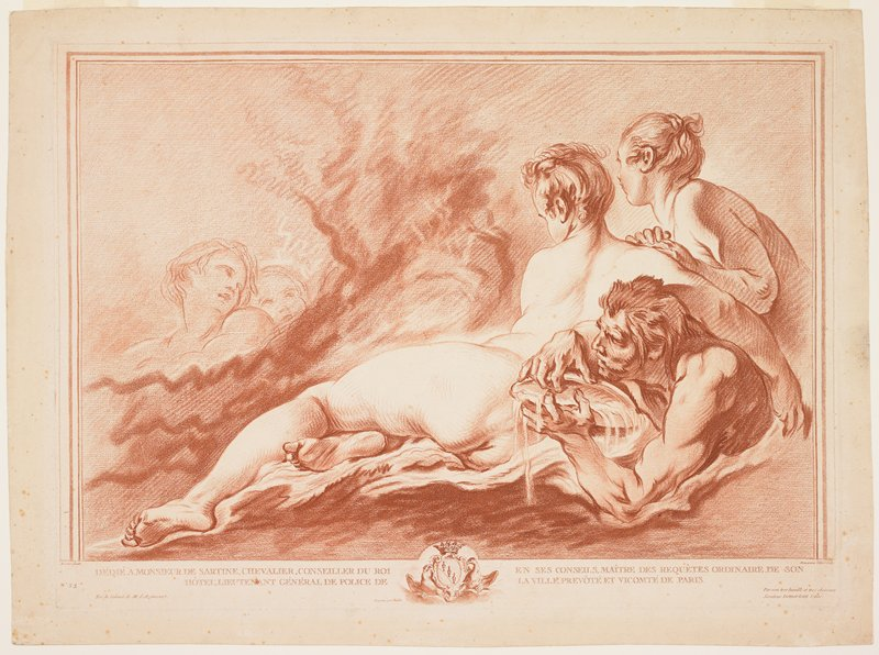 Engraving by Boucher