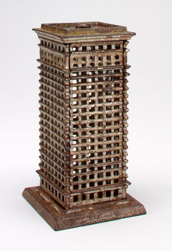 rectangular openwork skyscraper