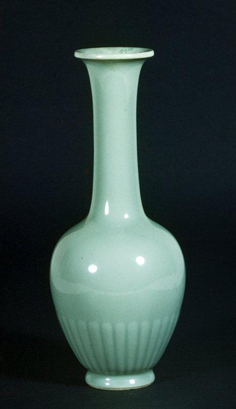 Vase, sea-foam green