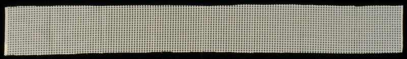 "Natural white balanced plain weave silk cloth with wider spaced weft and warp (each 1/8"") every 1/8"". Forms checker board design. Natural white balanced plain weave silk cloth with wider spaced weft and warp (each 1/8"") every 1/8"". Forms checker board design. Pearl"