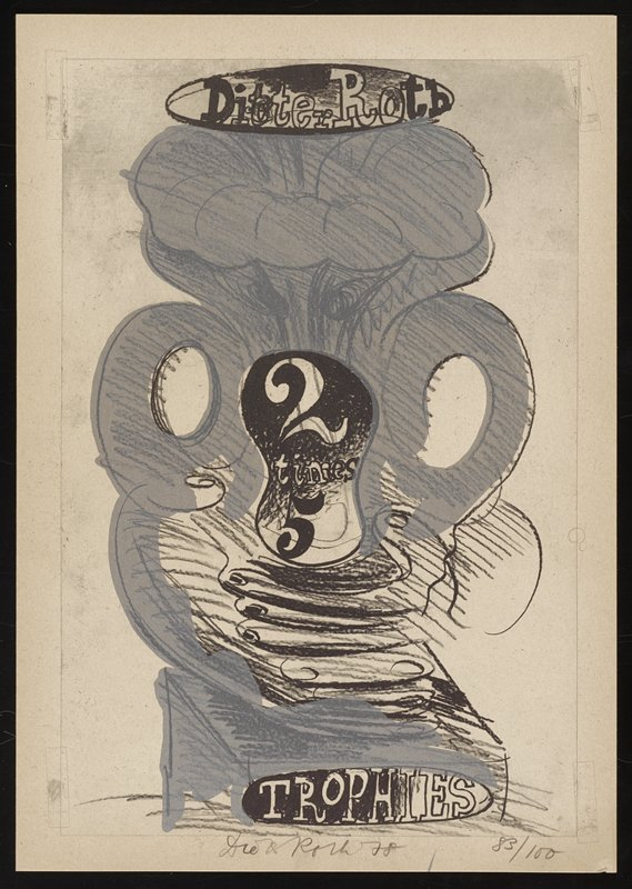 a portfolio of ten prints, one frontispiece, one collaged cover and one pencil drawing (79.56)