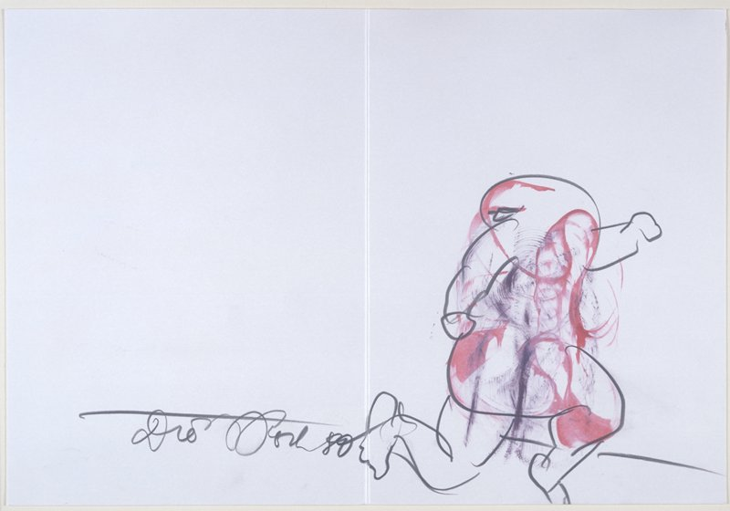 """""""Speedy Drawing"""" from the artist's book """"Collected Works. Volume 40: Books and Graphics (Part Two) and Other Stuff"""""""